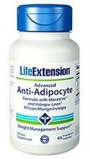 LIFE EXTENSION Advance Anti-Adipocyte Formula AdipoStat & Integra-Lean irvingia