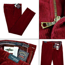 Mens PAUL AND SHARK Soft Touch Flat Front Corduroy Cotton Pants 58 / 42 NWT $395