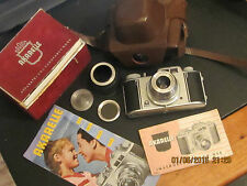 Vintage 1960s Akarelle camera , boxed ,instructions , made in Germany very rare