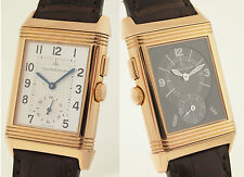 JAEGER LECOULTRE REVERSO NIGHT & DAY - REF 272.2.54 18ct ROTGOLD - GMT & 24h