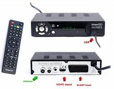FULL HD Freeview Receiver &HD Recorder DIGITAL TV Set Top Box Digibox SCART HDMI