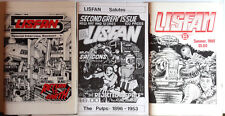 1980s LISFAN Lost in Space Fanzine Set of 3- Blueprints/Comics/Fiction/Articles