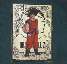 Dragon Ball Z Goku Gold Foil Chase Trading Card G1 1998 Funimation JPP Amada