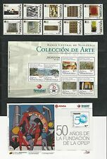 Venezuela: 4 complete sets + 4 S.S thematic related crefts,stained glass...VE884