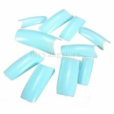 500Pcs Acrylic UV Gel Natural French False Artificial Nail Art Tips DIY Design