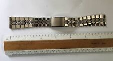 NOS Vintage Seiko Japan Stainless Steel Watch Band 20mm Straight Ends Bracelet