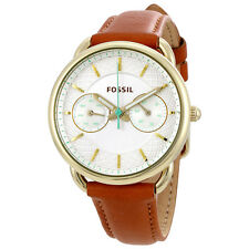 Fossil Tailor White Dial Ladies Multifunction Watch ES4006