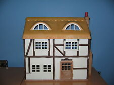 Sylvanian Families Highfields Farm house with working fireplace & lights vgc