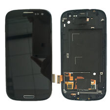 Black LCD Digitizer+Touch Screen+Frame Assembly for Samsung Galaxy S3 i747 T999