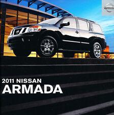 2011 Nissan Armada VG 22-page Original Sales Brochure Catalog Ver2