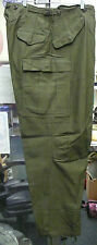 MEN'S TROUSERS FIELD PANTS OD GREEN M-1951 KOREAN WAR ERA LONG LARGE NWOT
