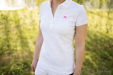NWT AEROPOSTALE Aero Womens Solid Pique Polo Shirt T-Shirt Uniform XS S M L XL