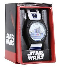 Star Wars Disney R2D2 Rubber R2-D2 Strap Band Watch Gift New In Box!