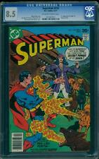 Superman 318 CGC 8.5 OW/W Pages Bronze Age DC Comic IGKC L@@K