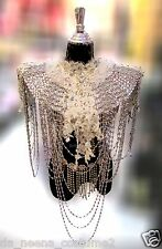 Da NeeNa B562 Venus Crystal Showgirl Vegas Wahite Lace backpack Shoulder Piece