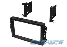 DOUBLE 2 DIN CAR STEREO RADIO DASH INSTALL MOUNTING INSTALLATION TRIM BEZEL KIT
