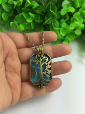 Hollow Locket Necklace Perfume Fragrance Essential Oil Aromatherapy Diffuser G1