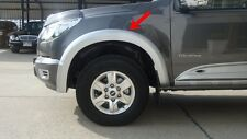 CHEVROLET COLORADO 2012-15 DOUBLE CAB SILVER FENDER-FLARES STYLE STANDARD