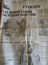 JOURNAL L'EQUIPE TOUR DE FRANCE FIGNON / HINAULT 1984 (A)