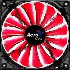 Aerocool Shark 140mm x 25mm Fan (3-Pin, Fluid, Red)