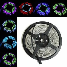 WS 2811 Waterproof Chasing LED Strip Light 5M 16.4ft RGB 150 leds Black PCB IP65