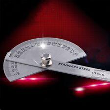 Winkellineal 180° Winkelmesser Edelstahl  Maßstab Schmiege Gradbogen Measure