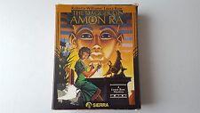 Sierra The Dagger of Amon Ra: A Laura Bow Mystery (PC, 1992) - MINT - Big Box