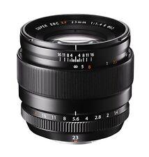 Fuji 23mm f1.4 XF R Fujinon Black Lens