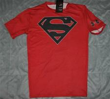 Under Armour Alter Ego SUPERMAN Team Compression Shirt 1255037 600 Red Large NWT