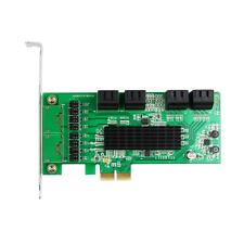 Internal 8 Ports SATA3.0 6Gb PCI Express PCIe Expansion Card Chipset For Marvell