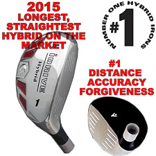 #1 HYBRID RESCUE IRON WOOD 1 2 3 4 5 6 7 8 9 PWSW LW TAYLOR FIT CUSTOM MADE CLUB
