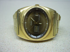 Amaizing VINTAGE ZODIAC SST 36000 GENTS WATCH DAY DATE serviced !!!
