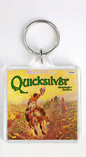 QUICKSILVER MESSENGER SERVICE - HAPPY TRAILS LP COVER KEYRING LLAVERO
