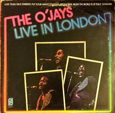 The O'Jays Live In London Lp Vinyl 33 Giri