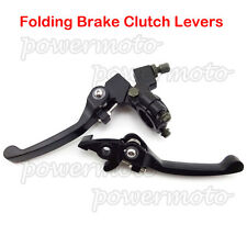 Alloy Folding Brake Clutch Lever For Chinese CRF 50 70 KLX SSR TTR Dirt Pit Bike