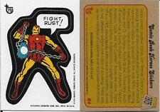 2013 Topps 75th Anniversary #64 Comic Book Hereos Sticker > Iron Man > 1974