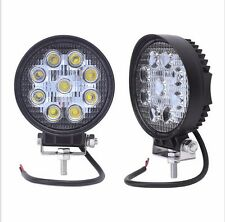 2 X 27W 27W LED for Boat SUV Jeep Truck Cree Working Lamp Light Spot Beam Light