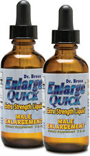 "Enlarge Quick Liquid-Faster Than Pills-Buy 1 get 1 Free-Erection size 3"" bigger"