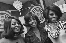Diana Ross and The Supremes Motown Group 1968 Photo Music Print Picture A4