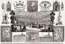 Parigi: Museo del Louvre: Collezione Campana. Grandissima. Stampa Antica. 1861