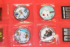 Winterfest Event Geocoin  2012-2016 Five Coin Set, Unactivated