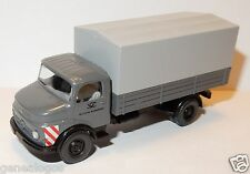 MICRO WIKING HO 1/87 CAMION MB MERCEDES 1413 PICK-UP GRIS DEUTSCHE BUNDESPOST