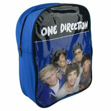 One Direction Sac à dos Sac nouvelle Officiel 1d Noir & Bleu