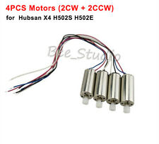 4Pcs Motor Engine for Hubsan X4 H502S H502E RC Drone Quadcopter Gear Spare Parts