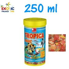 DAJANA TROPICA 250ml MANGIME IN FIOCCHI PER PESCI TROPICALI CIBO SCAGLIE ACQUARI