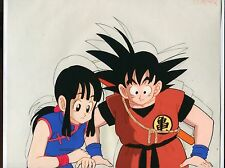 GOKU Chi chi DRAGONBALL original Production anime cel