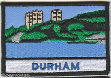 Durham England Oblong Embroidered Patch Badge