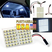 US Stock 1x White 48SMD 3528 LED Light Car Dome Light DC 12V T10 BA9S Festoon
