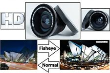 Digital HD Super Fisheye Lens with Macro For Sony HXR-NX30U HXR-NX30