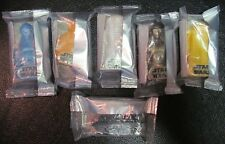 Star Wars Episode 7, set of 6  General Mills DROIDS + POSTER + episode 7 sticker